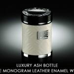 D.A.D ラグジュアリー アッシュボトル タイプ モノグラムレザーエナメル ホワイト