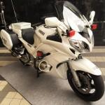 バイクの日 交通機動隊 白バイ